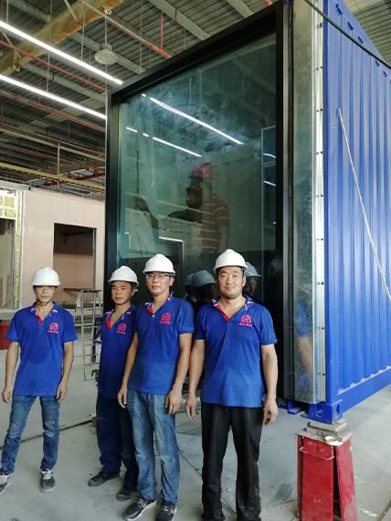 项目施工团队