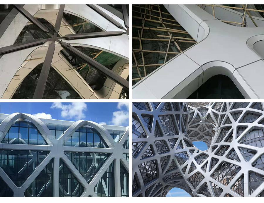 酒店玻璃铝板幕墙工程工艺
