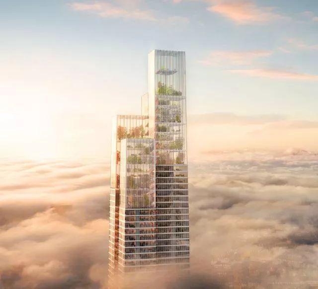 中东幕墙追寻行业前沿-玻璃幕墙安装公司哪家会中标第一高楼