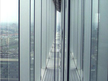 【中东幕墙】双层玻璃幕墙分别具有哪些优点和缺点