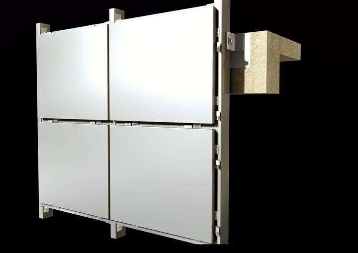 铝单板幕墙的八大优点「中东幕墙」