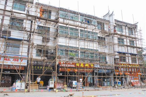 旧楼改造玻璃幕墙-新形象走进千家万户-中东幕墙