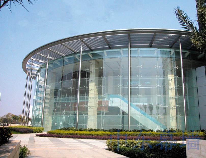 深圳新安框架支撑玻璃幕墙安装价格