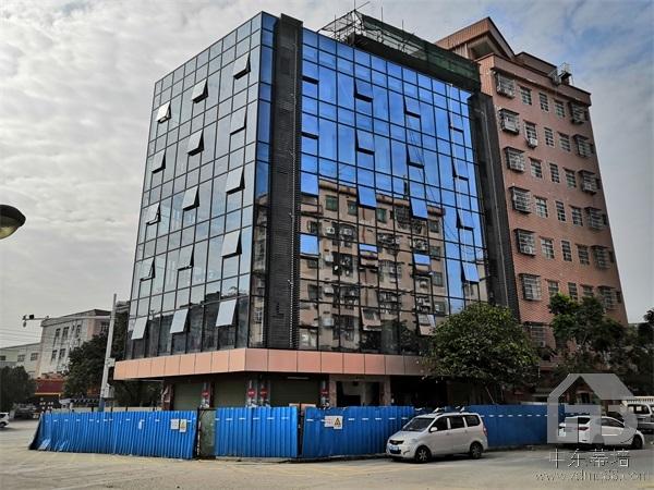 深圳南园明框玻璃幕墙安装公司