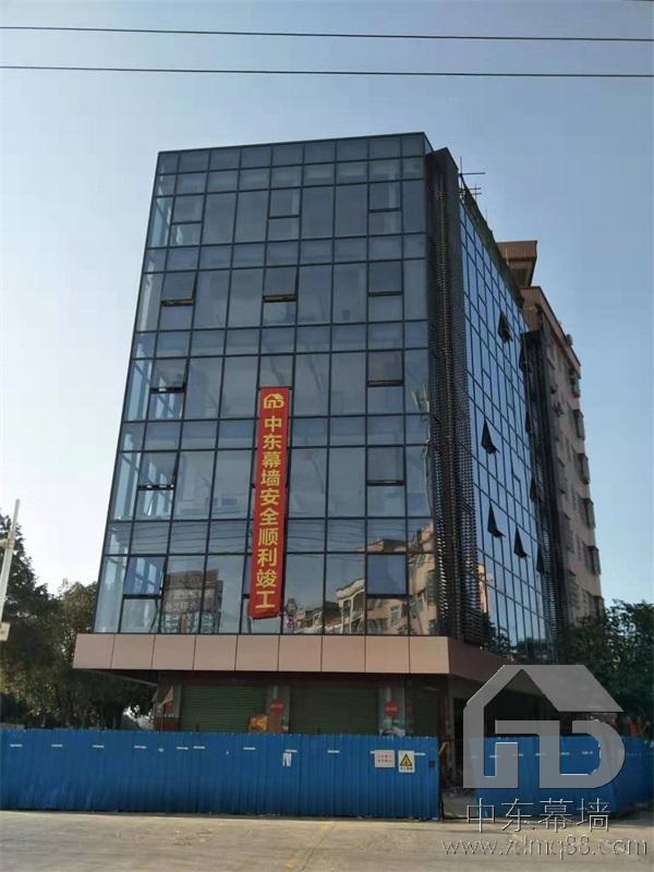 深圳罗湖明框玻璃幕墙安装造价