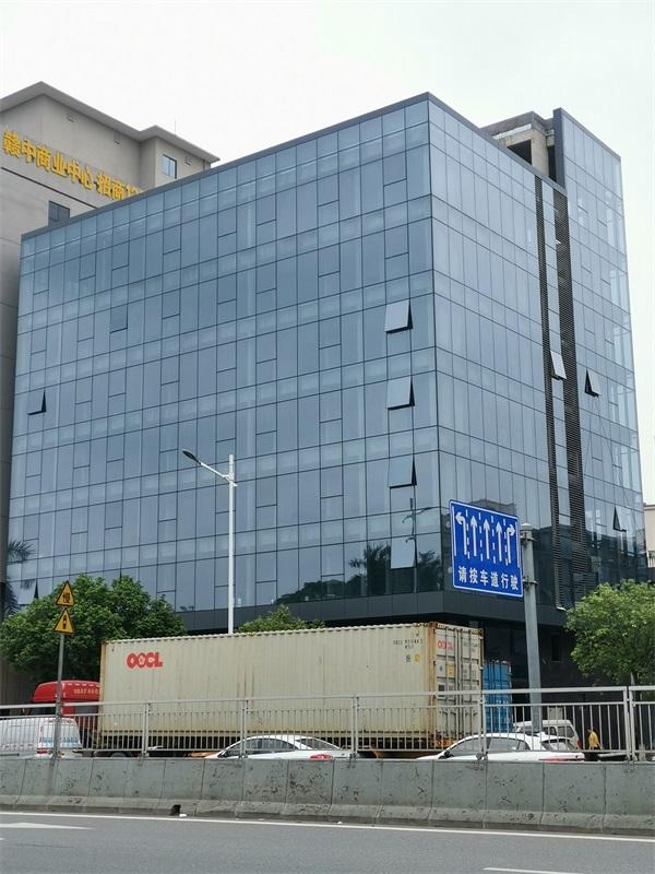 隐框玻璃幕墙工程-中东幕墙