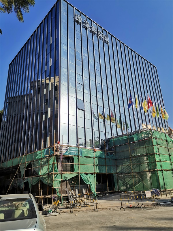 潮州玻璃幕墙工程安装-中东幕墙