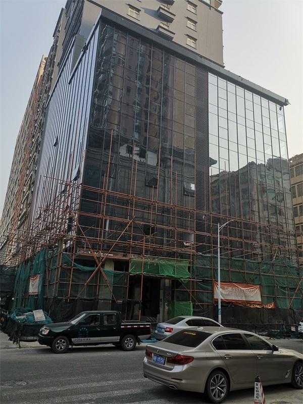 深圳玻璃幕墙工程公司-中东幕墙