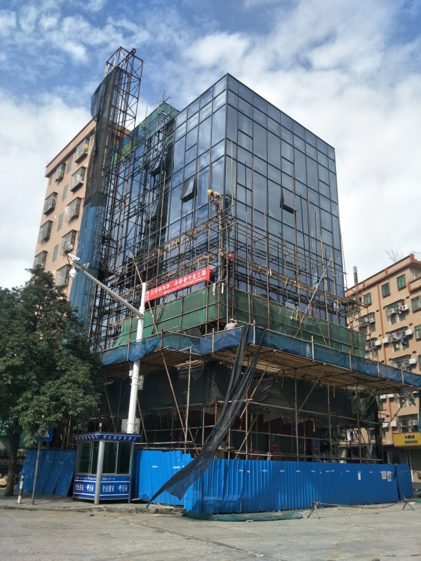 玻璃幕墙安装-首选实力幕墙公司