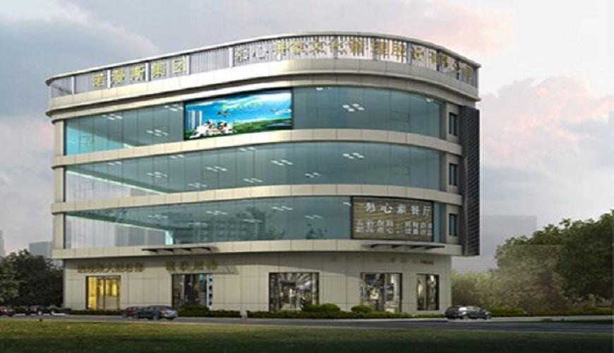 大朗诺漫斯集团玻璃铝板幕墙外墙改造