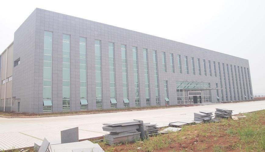 武汉亿和B栋玻璃石材铝板幕墙项目