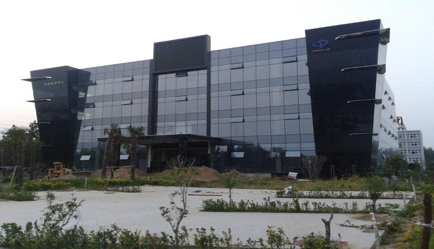 河南东起集团办公楼隐框幕墙工程