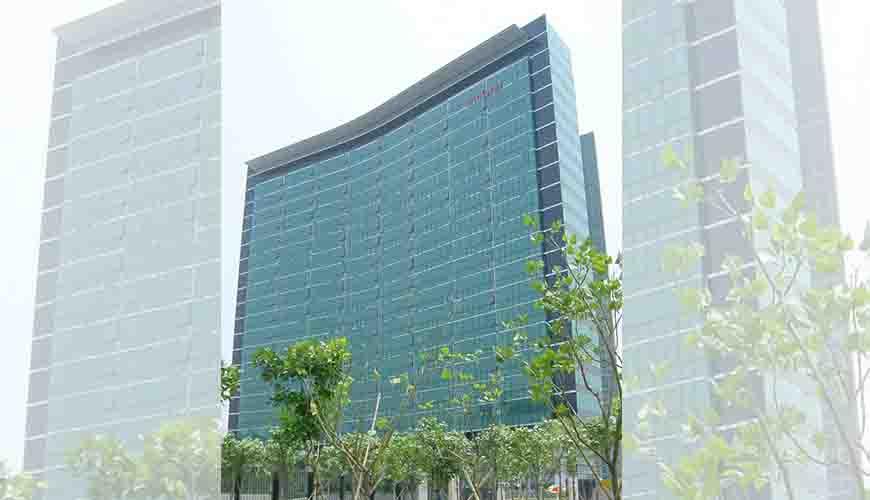 深圳华为科研楼玻璃幕墙