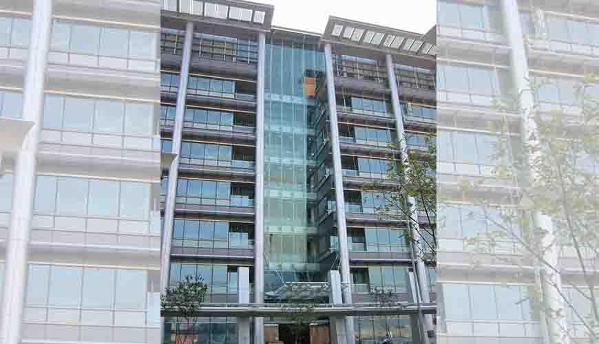 香港科学馆B座玻璃铝板幕墙