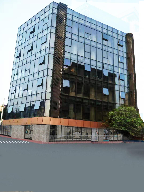 东莞喜荣荣商业大厦玻璃外墙改造