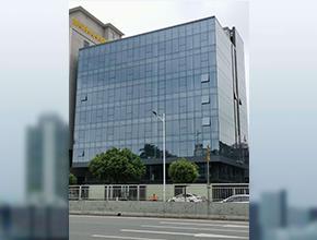 东莞长安-全隐框玻璃幕墙工程
