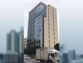 东莞虎门永和大厦玻璃幕墙
